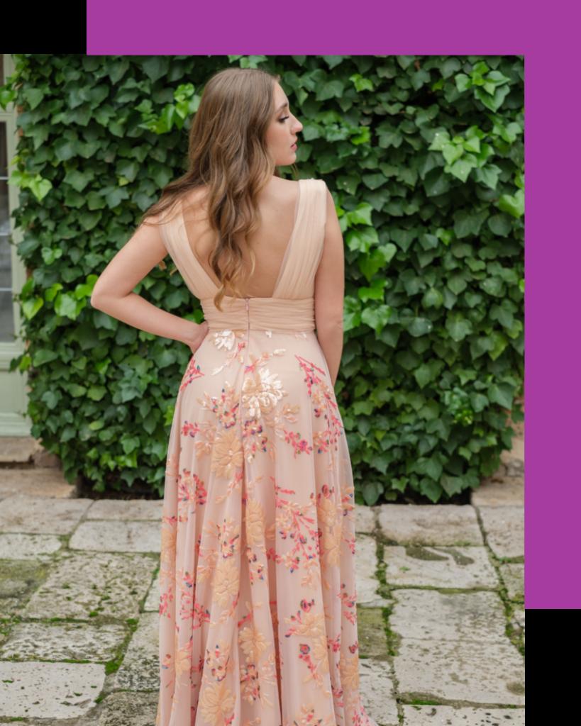 vestido invitada Carmen Alba