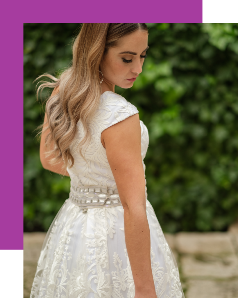 novia vestido ideal